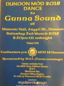 Dunoon MOD Dance event