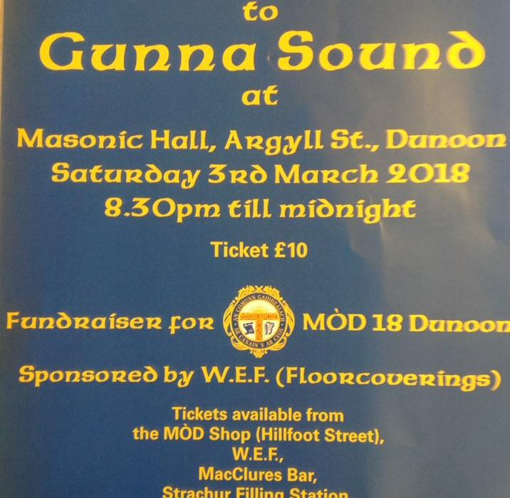 Dunoon MOD Dance event
